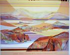 "Mary Ann Ginter ""Islands of Time"" Poster 33 1/4 X 26"