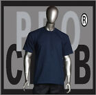 1 New Mens Pro Club Heavyweight Blue Blank T Shirt M to 3XL PROCLUB