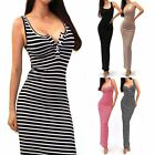 Women Slim Bandage Bodycon Maxi Casual Evening Party Prom Sexy Ladies Dress