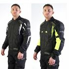 Motohart Viper Mens Coretech Jacket Textile Waterproof Black & Black/Yellow CE