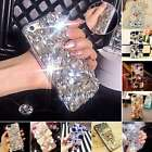 3D Handmade Bling Diamond Rhinestone Crystal Case Cover For Apple iPhone X 8 7 6