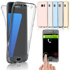 For Samsung Galaxy S7 / S7 Edge Crystal Clear Cover Full Body Protective Case