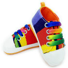 Fashion Infant Toddler Baby Girls Boys Soft Sole Crib Shoes Sneaker 8 Colors