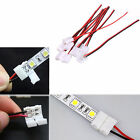 10-50p PCB Cable 2 Pin LED Strip Connector 3528/5050 Single Color Adapter Useful