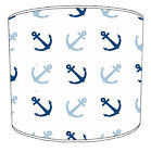Nautical Lampshades Ideal To Match Nautical Sailing Cushion & Nautical Wallpaper