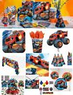 Blaze and The Monster Machines Birthday Party Supplies Tableware Plates Cups