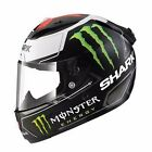 Shark Race-R Pro Lorenzo Monster Matte Black White Red Motorcycle Helmet Small