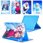 "Frozen Cartoon Kids Leather Stand Case Cover For Samsung Galaxy Tab A 7"" 8"" 9.7"""