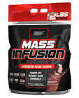 Nutrex Mass Infusion 12lb -Super Mass Weight Gainer Whey Protein Choose a Flavor