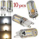 1x 10x G4 G9 Led Bulb 5W SMD3014 Lamp High Power Silicone Crystal Lights Capsule