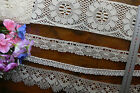 ECRU LACE 4 Styles (1 Heritage) 18-105mmWide 1, 3, 5 Metre Lengths MultiList BW3