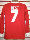MANCHESTER UNITED 1960s GEORGE BEST RETRO SHIRT(RED)