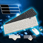 New 2.4g WHITE mini small numeric wireless keyboard and mouse set for Win7/8/10