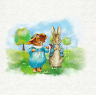 Peter Rabbit & Tom Kitten in the Meadow Craft Panel / Qulting 8 x 8 inch