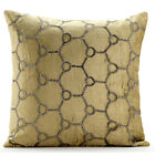 """Crystals Pattern Green Velvet 16""""x16"""" Pillow Case - Class Wire TAPESTRY EDH"""