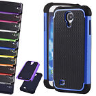 Hybrid Rugged Rubber Matte Outer Box Case Cover For Samsung Galaxy S4 IV i9500