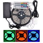 5M SMD 5050 Waterproof 300LEDs RGB Color Changing Flexible LED Strip Light