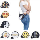 Fashion Unisex Emoji Women Girl Handbag Shoulder Messenger Bag Backpacks Satchel