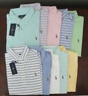 NWT Ralph Lauren Men's S/S Hampton Knit Oxford Mesh Polo Shirt S M L XL 2XL NEW