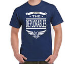 We Are The Deplorables T-Shirt Donald Trump For President Deplorable Men Women