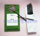 10 ORGAN JLX1 2053 SY2053 Round Shank Home Serger Overlock Needles
