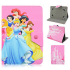 """Universal 7"""" 10'' inch Tablet PC case cover Disney Princess stand Kids Cartoon"""