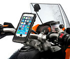 Motorcycle M6 M8 M10 Top Clamp Mount + Case for Apple iPhone 6 plus 6s plus 5.5""