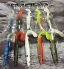 "WEIGHTED EDDYSTONE EEL 6"" 150mm 24g SANDEEL FISHING LURES PKT 1 CHOOSE COLOURS"