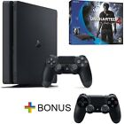 PlayStation 4 Slim 500GB Console - Uncharted 4 Bundle + FREE Extra Dualshock 4 C
