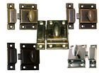LARGE STEEL, ECONOMY, CABINET, CUPBOARD TURN, LATCH,  5 Finishes, Sold in Pairs