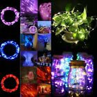 20-100 LED Battery Operated Mini LED Copper Wire String Fairy Lights 2/3/4/5/10M