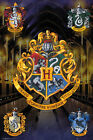 Harry Potter - Grand poster Crests - 61 x 91,5 cm