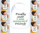 Rabbit Skins Infant Cotton Snap Bib Finally Out! I Was Running Out Of Womb