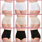 NEW Ladies High Waist Lace Control Brief, Tummy Control, White, Skin, Black