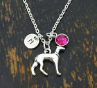 Greyhound Necklace, Greyhound Jewelry, Italian Greyhound, Dog Charm,PERSONALIZED