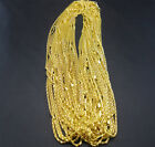 Fashion delicate gold Plated Snake Chain Necklace With 8 shape Clasp 20''