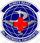 STICKER USAF 86TH AEROMEDICAL SQUADRON