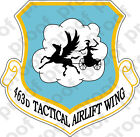 STICKER USAF 463rd Tactical Airlift Wing