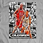 LEGENDS PENNY HARDAWAY VS MICHAEL AIR JORDAN *OLDSKOOL* RARE CUSTOM SHIRT  image