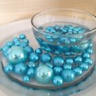 Turquoise Blue Jumbo Pearls Decorative Vase Fillers/Floating Pearl Centerpiece