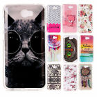 Fashion Cute Soft Rubber TPU Silicone Gel Back Case Cover For Huawei Y5 II 2