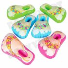 """20"""" Inflatable Flip Flops Pink, Blue or Green RM3471"""