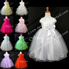 #SB9 Baby Flower Girl Wedding Junior Bridesmaid Pageant Party Formal Gown Dress