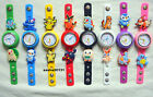 POKEMON JIBBITZ BAND WATCH  & A SELECTION  OF 10 POKEMON CHARMS, BRAND NEW