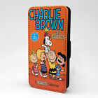 Snoopy Charlie Brown Flip Case Cover For Samsung Galaxy - T826