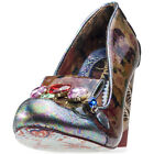 Irregular Choice Ellie Grant Womens Shoes Brown Multicolour New Shoes