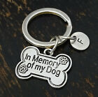 In Memory of My Dog Keychain, Dog Memorial Keychain, Dog Lover, PERSONALIZED