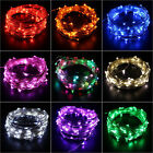 5m 50 Led String Fairy Christmas Party Light Battery Operated Outdoor Waterproof