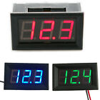 Digital MiNi 4.5-30V LED Gauge Car Voltmeter Voltage Volt Panel Meter Blue Red