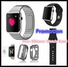 Bundle 1:1 Bracelet Watch Band Strap For Apple Watch Stainless Steel Black Case
